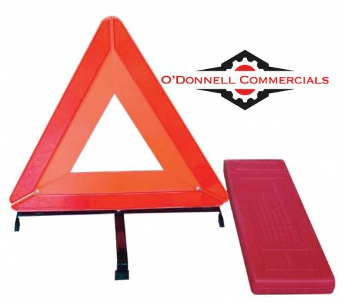 Advance Warning Triangle Reflective