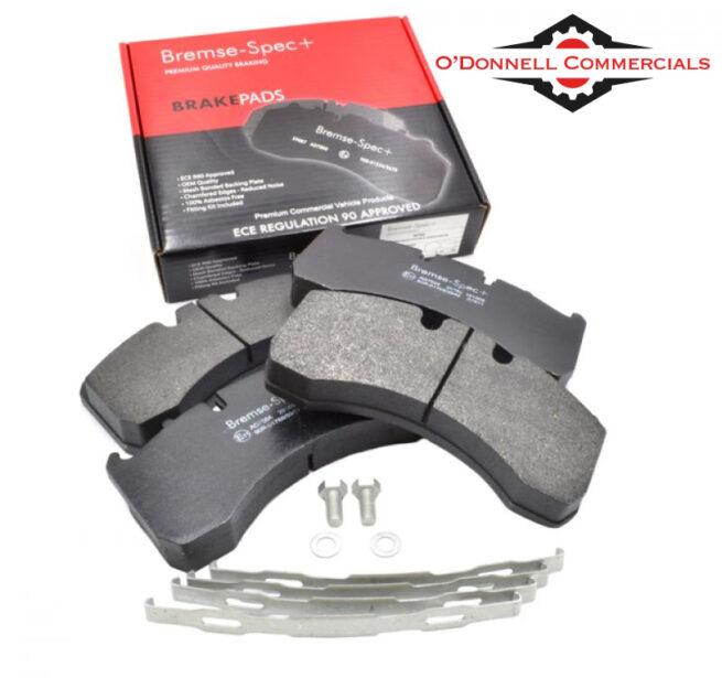 Brake Pads WVA29177/WVA29169 Set