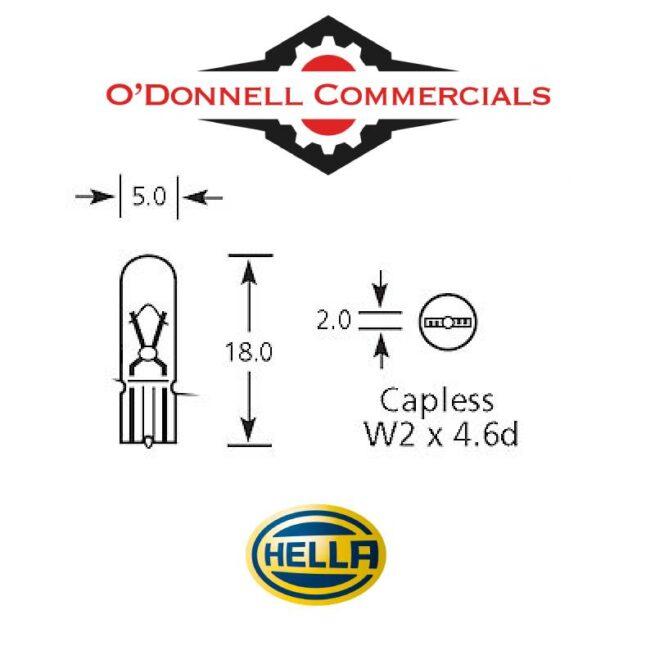 Capless Dash Bulb HB508