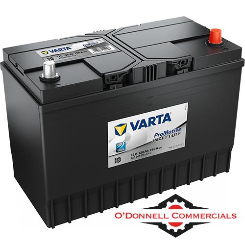 Heavy Duty Battery 663 120AH 780A (Varta)