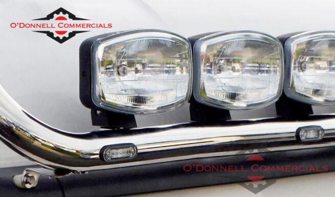 Scania Cab Roof Bar 2009+ inc LEDS - Chrome
