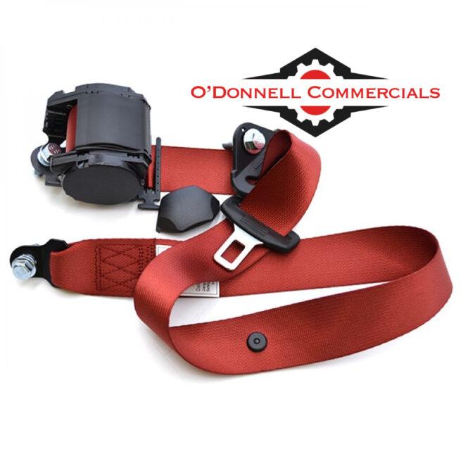 Truck Integral Seat Belt (RED) Scania/Volvo/Renault