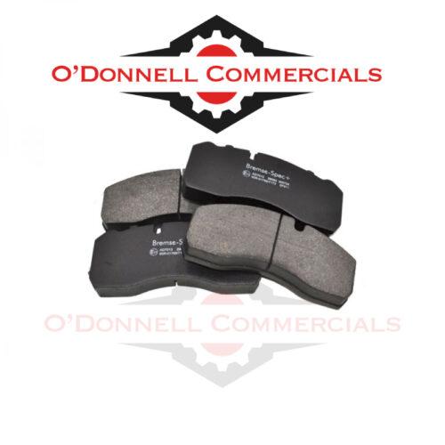 Brake Pads WVA29093/WVA29095 Set