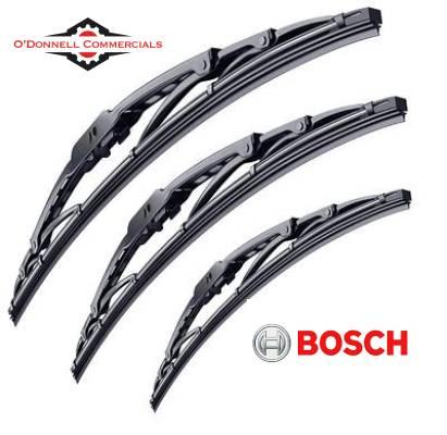 Bosch Wiper Blade - 3 Lengths - 630mm - 650mm - 700mm